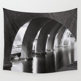 Stone Arches Wall Tapestry