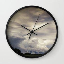 Moody Sky Wall Clock
