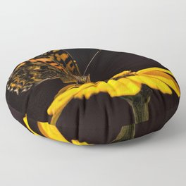 Zinnia Sipping Floor Pillow