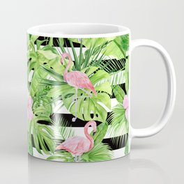 Flamingo Stripes Coffee Mug