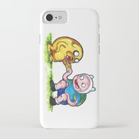 finn and jake iPhone & iPod Cases featuring  Finn&Jake  by memo_alatouly