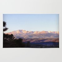 colorado Area & Throw Rugs featuring Colorado by wendygray