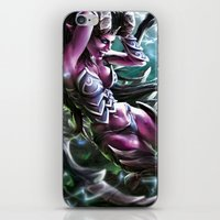 warcraft iPhone & iPod Skins featuring Apocalypse by Steuer Catherine