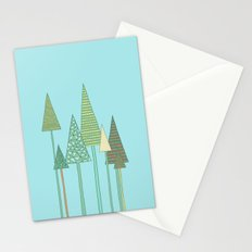 Spring Trees Stationery Cards