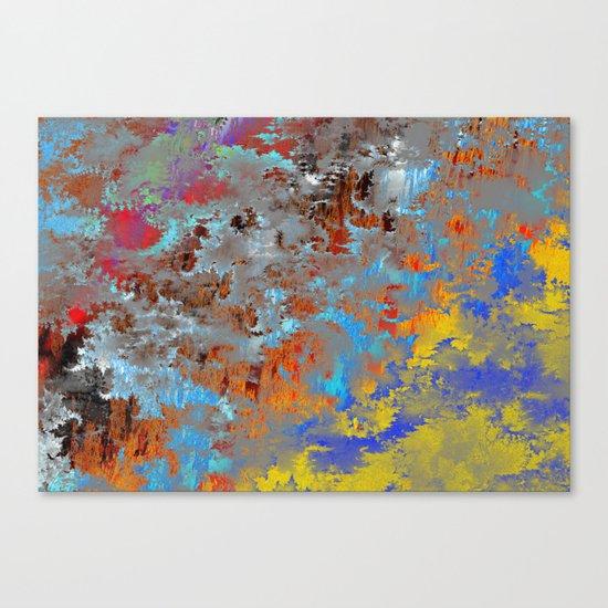 autumn fresh rainy days Canvas Print
