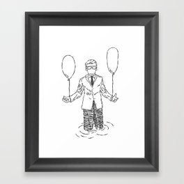 Wait & See What Happens Next Framed Art Print