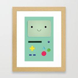 B M O Framed Art Print