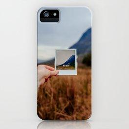 Glen Coe Bothy iPhone Case