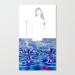 Water Nymph XC Canvas Print