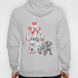 The Dog Walker. (Red) Hoody