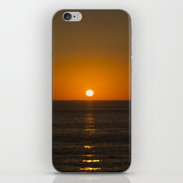 Pure Orange Sunset iPhone Skin