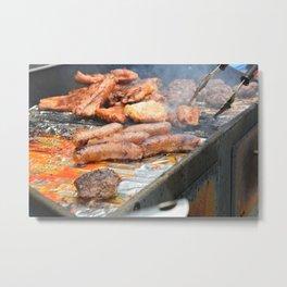 grillin' Metal Print