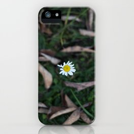 The Lone Flower iPhone Case