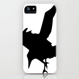 Raven A Halloween Bird Of Prey  iPhone Case