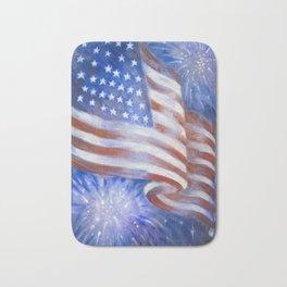 I Pledge Allegiance to the Flag Bath Mat