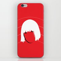sia iPhone & iPod Skins featuring Girls Like Sia  by Smudgey Paw