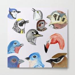 birds multi Metal Print