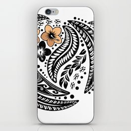 Polynesian Tribal iPhone Skin