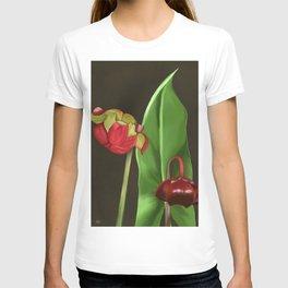 Pitcher Plant Flowers T-shirt
