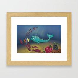 Accidental Fisherfish Framed Art Print