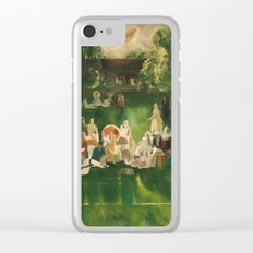 George Bellows - Tennis Tournament, 1920 Clear iPhone Case