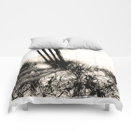 art in the sand series 1 Comforters