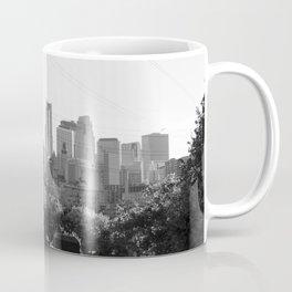 Minneapolis, Minnesota Black and White Skyline | City Photography Coffee Mug