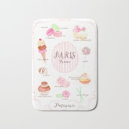 Paris Patisserie Bath Mat