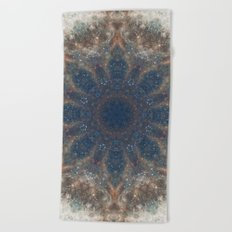 Space Mandala no22 Beach Towel