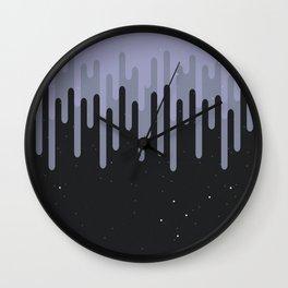 Destruction of the purple universe Wall Clock