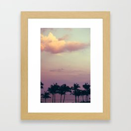 florida tress Framed Art Print