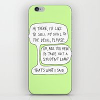 college iPhone & iPod Skins featuring college by s t i n g s
