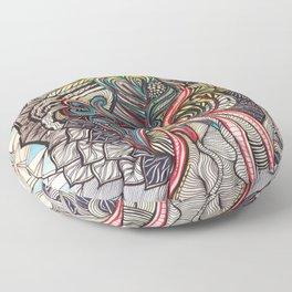 Deep Abstraction Floor Pillow