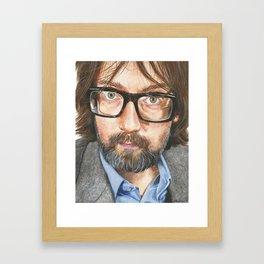 Jarvis Cocker Framed Art Print
