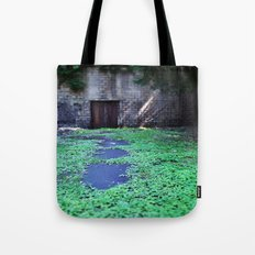 Over the Hill and through the Swamp, Color Tote Bag