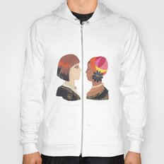 Indigenous African Society with Modern Day Civilization Hoody