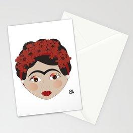 FRIDA KAHLO RED Stationery Cards
