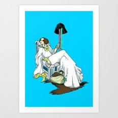 The Luxurious FashioniSTAR Art Print
