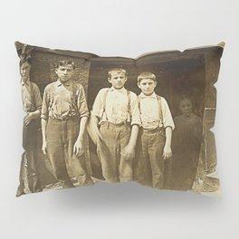 Ghost Of The Shoeshine Girl Pillow Sham