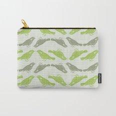 Little Bird (green) Carry-All Pouch
