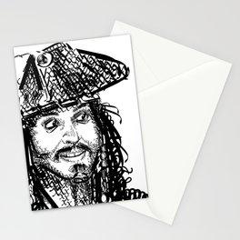 Jack Sparrow Stationery Cards