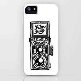 Analog Film Camera Medium Format Photography Shooter iPhone Case