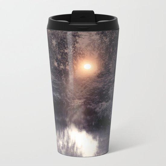 Lights and Dreams Metal Travel Mug