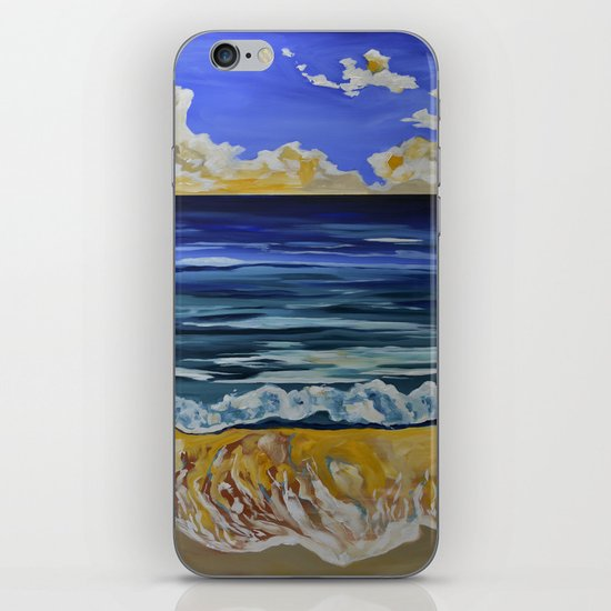 Summer Days Don't Go Away iPhone & iPod Skin