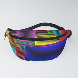 ColorBlox - Hammered Fanny Pack