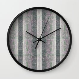 Grey Garden Wall Clock