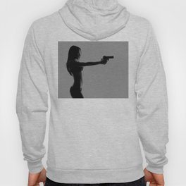 Girls love guns Hoody