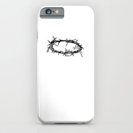 Jesus  - Christ Crown of Thorn Good Friday & iPhone Case