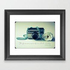 Instamatic Photography Framed Art Print