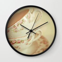 Noon Tea Wall Clock